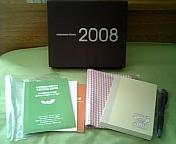 手帳のセット