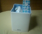 クラニン:Wii<br />  リモコンスタンド到着